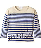 Burberry Kids - SW1 Stripe ACHAD Top (Little Kids/Big Kids)