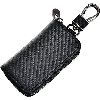 Car Key Bag Black Premium Leather Car Key Chain Coin Holder Zipper Case Remote Wallet Bag Black Premium Leather Car Key Chain Coin Holder Zipper Case Remote Wallet Bag Brown