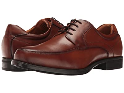 Florsheim Midtown Moc Toe Oxford (Cognac Smooth) Men