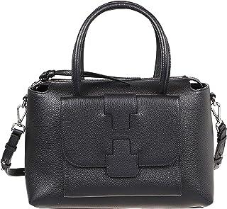 Hogan Luxury Fashion Damen KBW01BF020106RB999 Schwarz Andere Materialien Schultertasche   Ss21