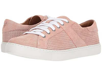 Trask Lindsey (Blush Metallic Suede) Women