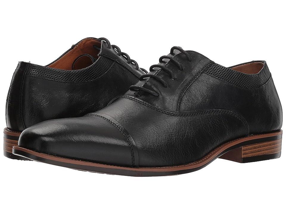 Steve Madden Glympse (Black Leather) Men