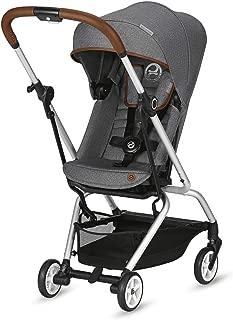 CYBEX Eezy S Twist Stroller Denim Collection, Manhattan Grey