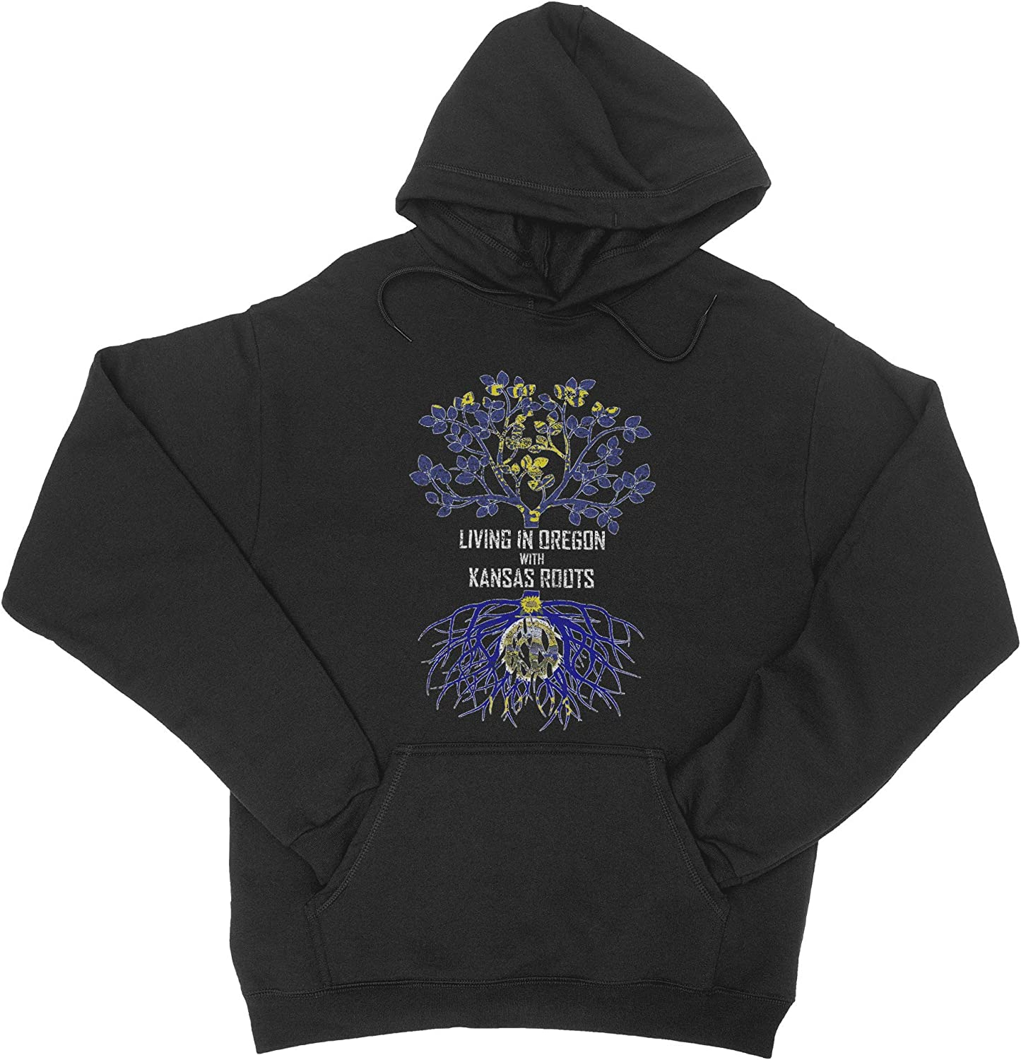 HARD EDGE DESIGN Unisex Living In Oregon with supreme Sweat Discount mail order Roots Kansas