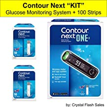 Contour Next Blood Glucose Monitoring Kit (Contour Next ONE Glucose Monitoring System Kit)