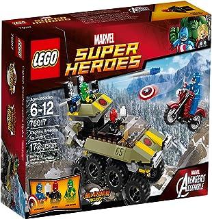 LEGO Super Heroes - Marvel - 76017 - Juego de construcción - Capitán América contra Hydra