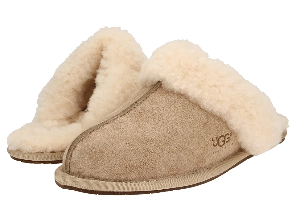 Image of UGG Scuffette II Water-Resistant Slipper (Sand (Suede)) Women's Slippers