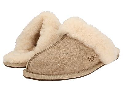 UGG Scuffette II Water-Resistant Slipper (Sand (Suede)) Women