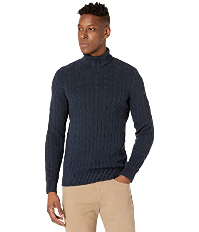 Selected Homme Ryan Structure Roll Neck Sweater (Sky Captain) Men