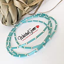 Barefoot Sandals Flame Waist Beads waistbeads Beach Wear Summer Summer Party Body Chain Belly Chain summer jewelry