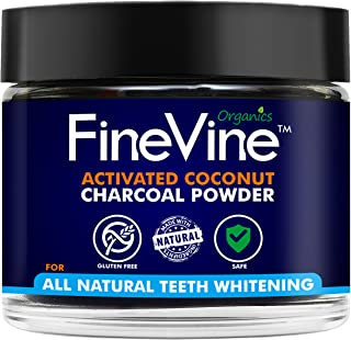 Teeth Whitening Powder Made in USA NATURALLY WHITEN TEETH and REMOVES BREATH Best Natural Tooth Whitener Product (Peppermint)
