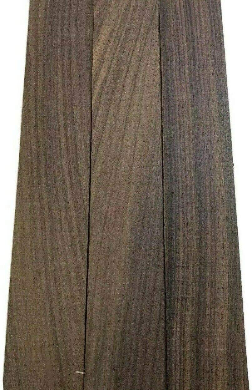 Pack Outlet sale feature of 3 OFFer Exotic East Indian Rosewood Board Thin Suitabl Lumber