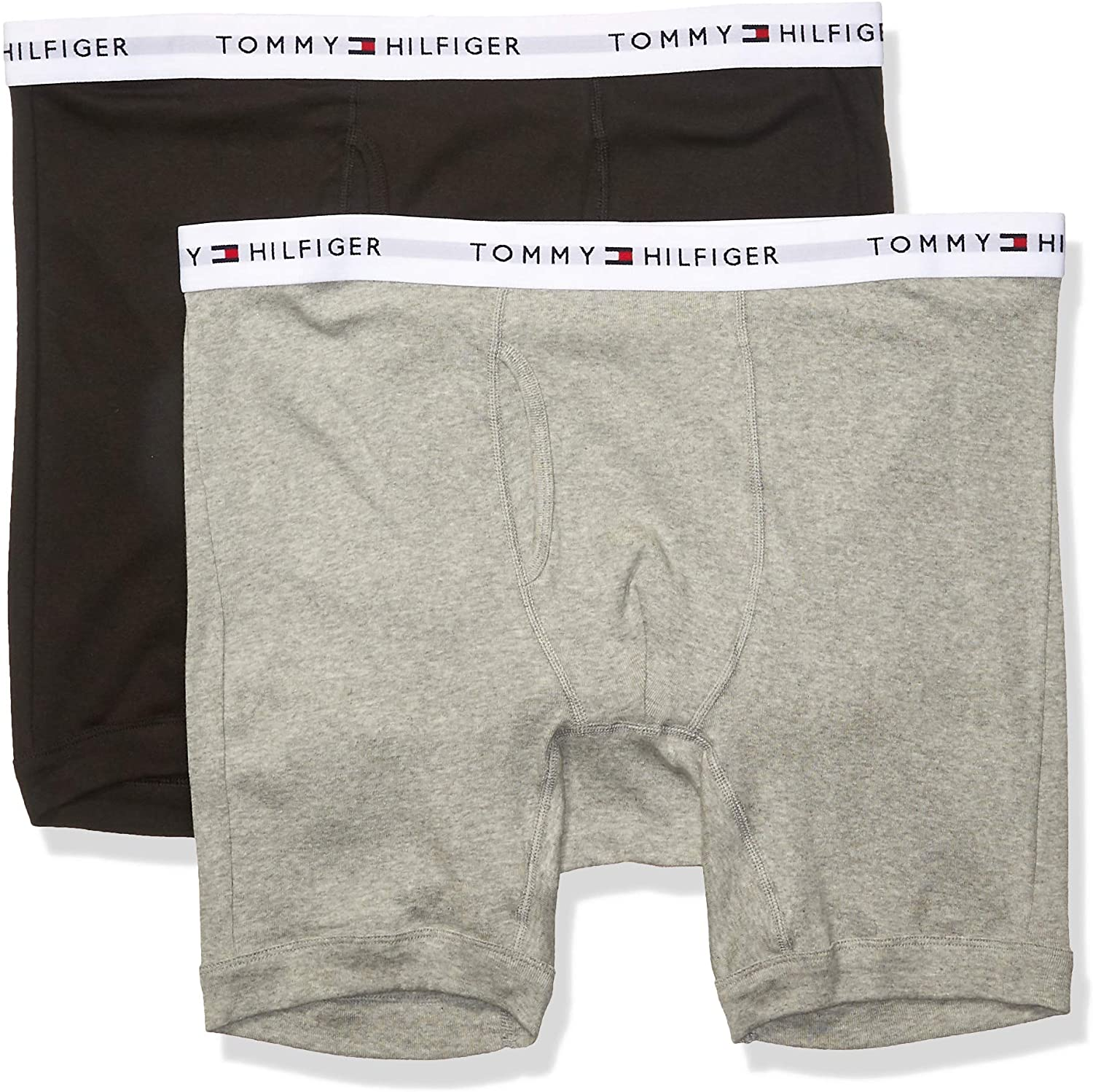 Tommy Hilfiger Men's Big and Tall Underwear Multipack Cotton Classics Boxer Briefs