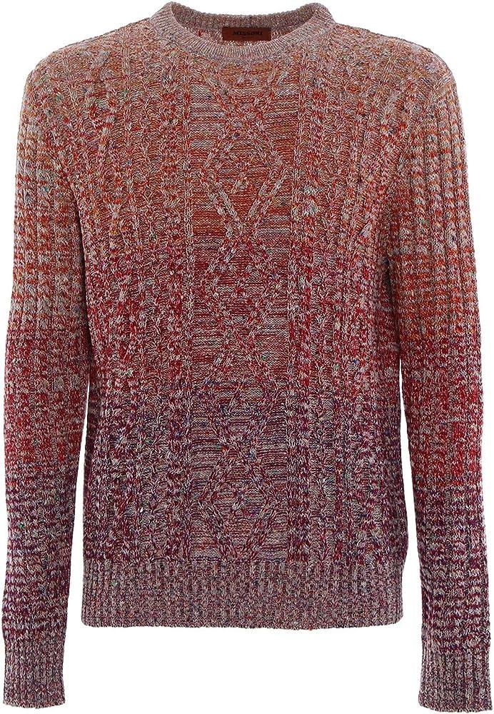 missoni maglione per uomo in lana misto cashmere,taglia: 48