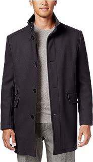 Kenneth Cole Mens Tweed Overcoat Dress