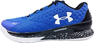 Under Armour Team Curry 1 Low Men's Basketball Shoe (9, Try/BLK/WHT)