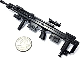 "4D 1/6 Scale DSR-1 Bolt-Action Rifle Sniper Gun Model German Police Fit For 12"" Action Figure (Mini Toy Gun 7"" long)"