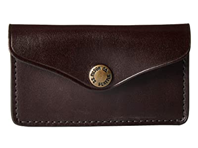 Filson Snap Wallet (Brown) Wallet Handbags