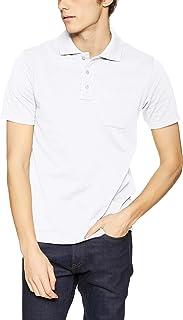 [セシール] ポロシャツ ディリーポロシャツ 綿100% 半袖 多サイズ 胸ポケット付き JK-275 メンズ