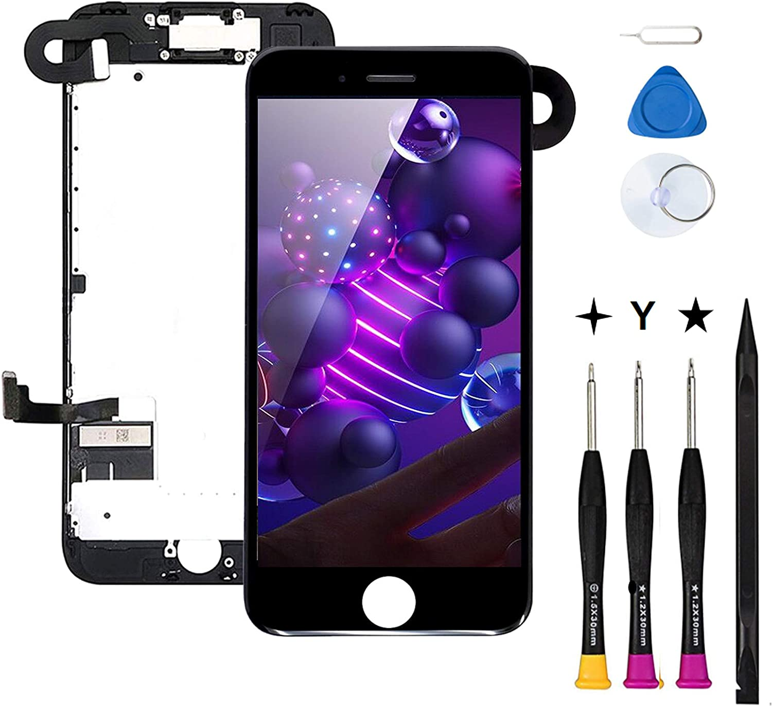COASD Pre-Assembled Compatible with 8 Free shipping anywhere in the price nation iPhone Replacement Screen