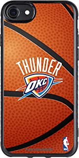 Fan Brander NBA Slim Phone case compatable with Apple iPhone 8 Plus and Apple iPhone 7 Plus and Apple iPhone 6 Plus with Basketball Background Design