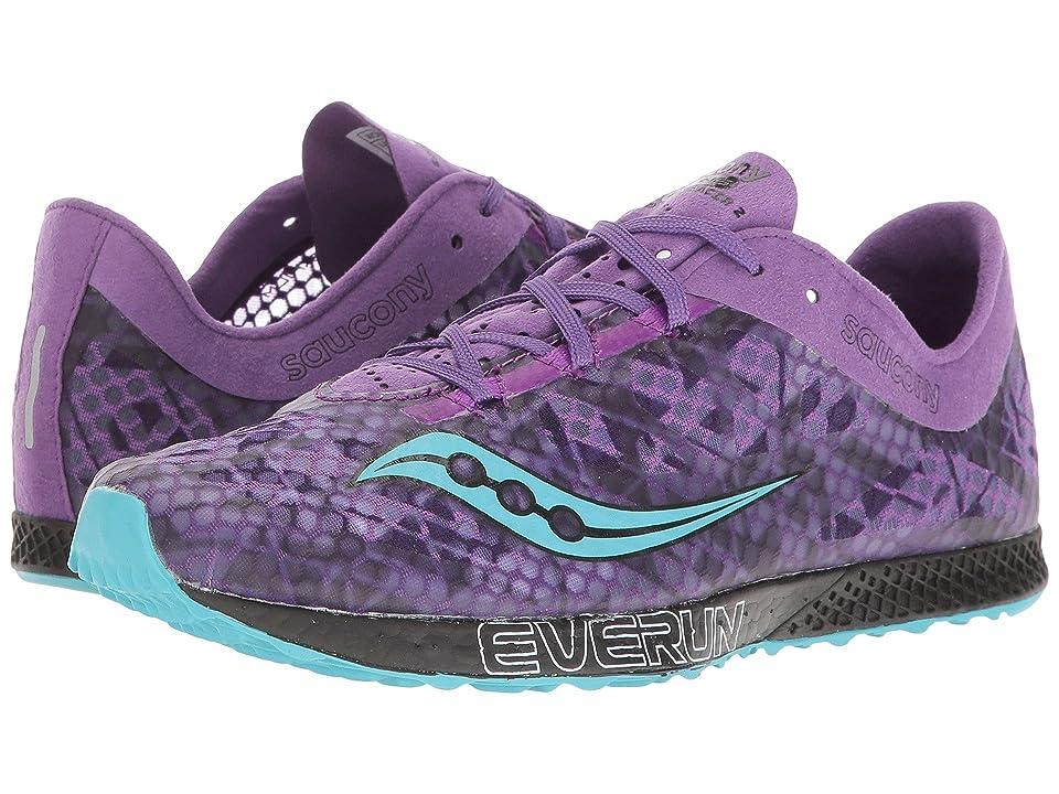 Saucony Endorphin Racer 2 (Purple/Teal) Women