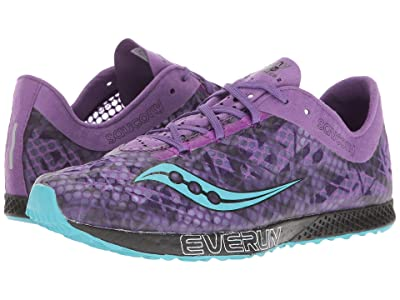 Saucony Endorphin Racer 2 (Purple/Teal) Women