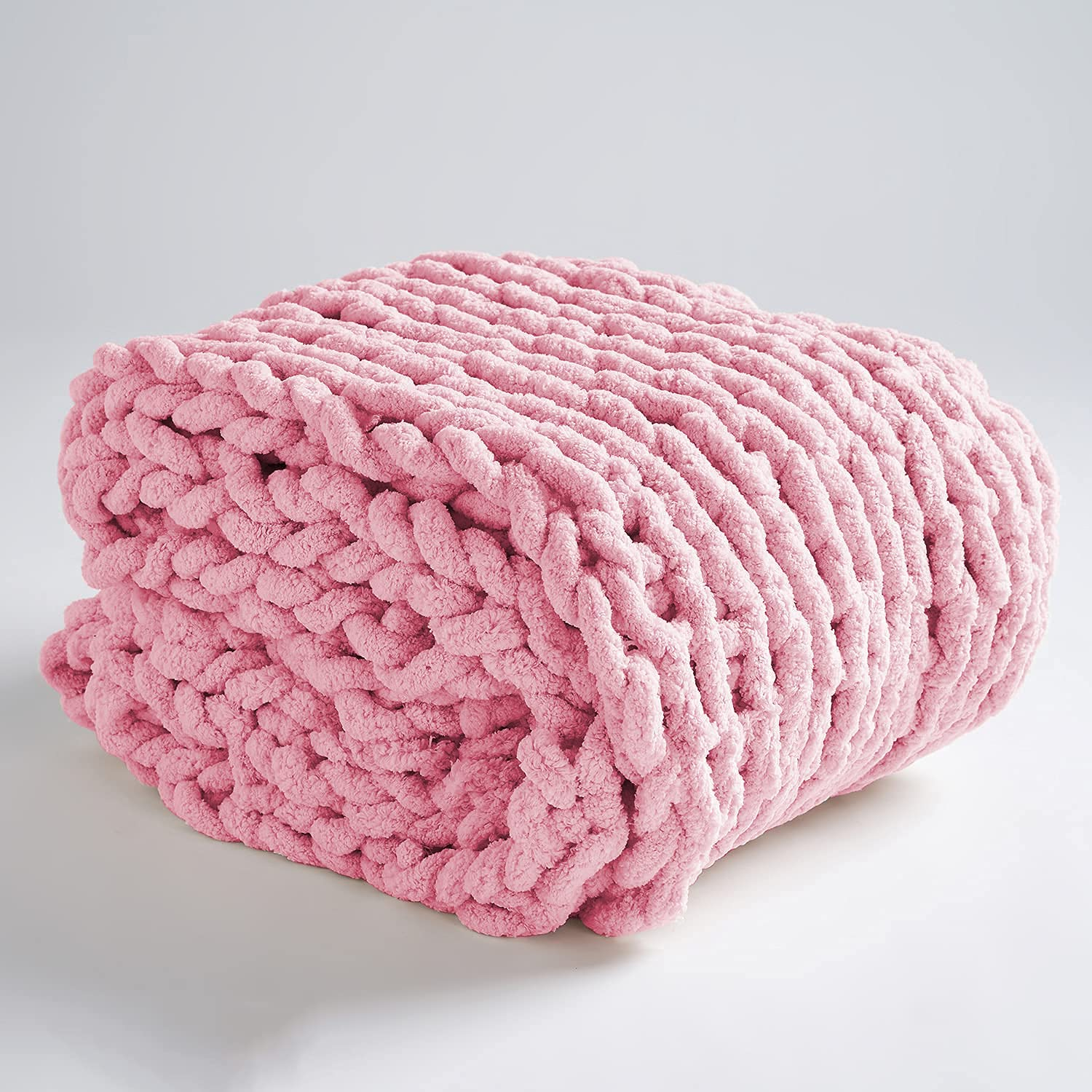 PENKERMAR Chunky Sale Special Price Knit Blanket Chenille Throw Cheni Handmade All stores are sold Soft