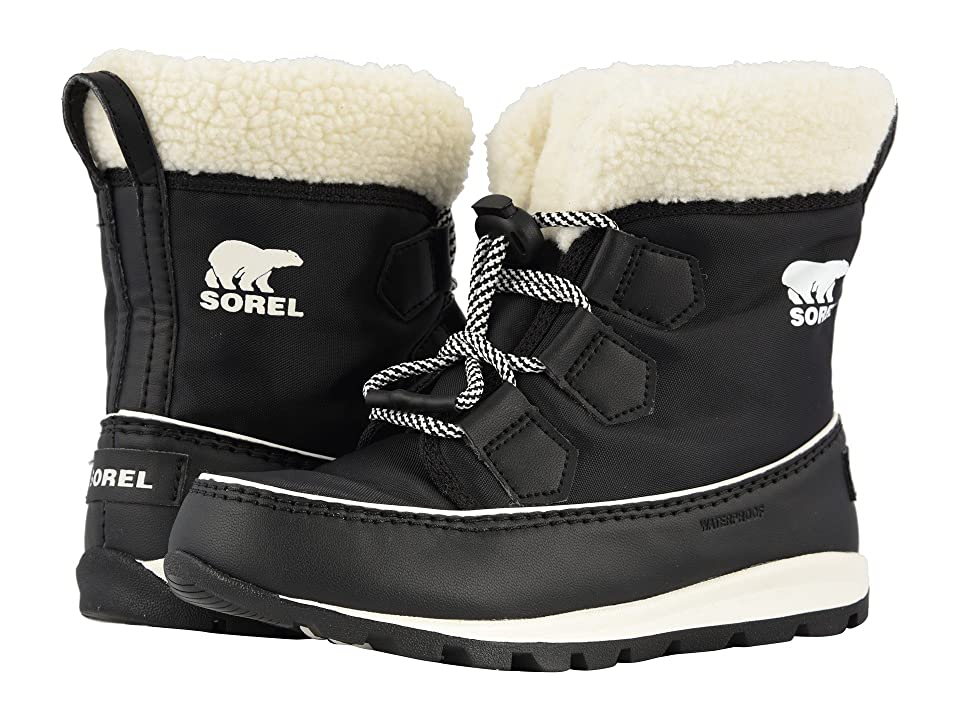 SOREL Kids Whitneytm Carnival (Little Kid/Big Kid) (Black/Sea Salt) Girls Shoes