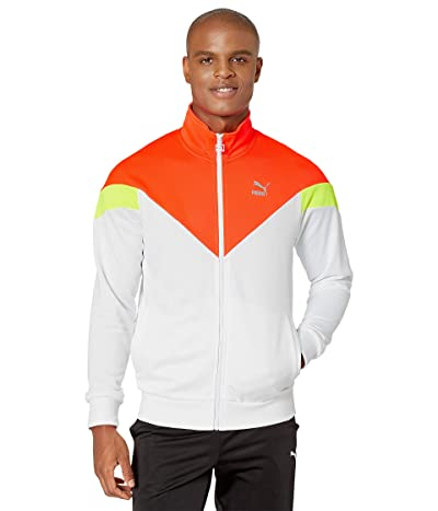 PUMA Iconic MCS Track Jacket (PUMA White) Men