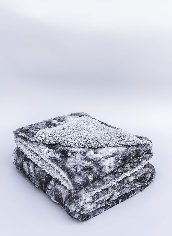 San Diego Mall PR 100% Oeko-Tex Certified Faux San Diego Mall Blanket Throw Super Soft Fur