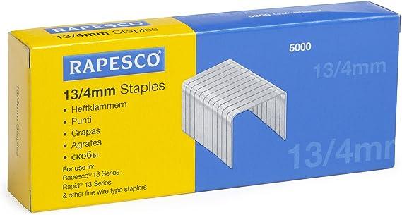 1455 Rapesco 21//4mm Staples 5//32/'/' Box of 1000