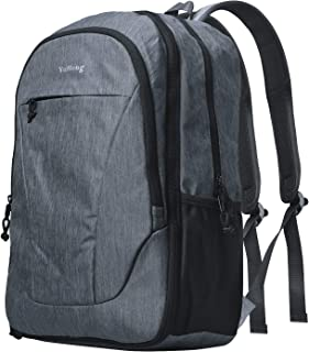 Yuheng Travel Backpack Lightweight Large Expandable School Outdoor Computer Bag - Grey