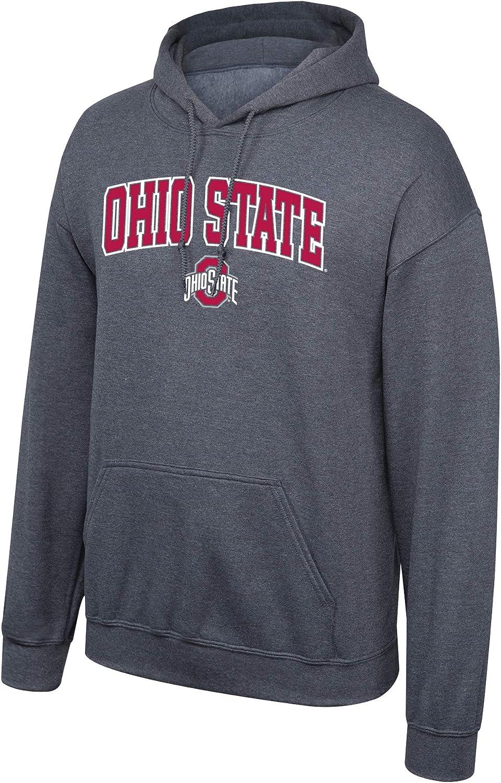 ELITe NCAA Herren Hoody Sweatshirt Dark Heather Arch B00OZNS02S  Online