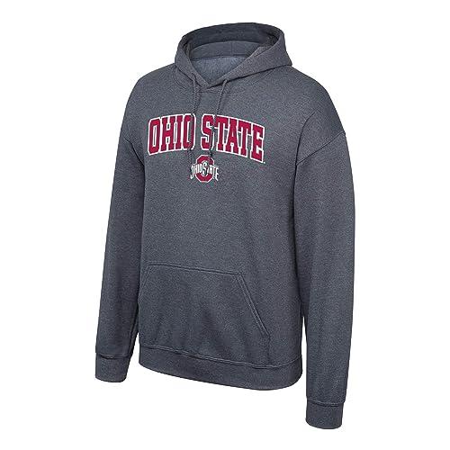 Elite Fan Shop NCAA Men s Hoodie Sweatshirt Dark Heather Arch 4228fbece408