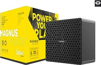 ZOTAC Magnus EK3105T Gaming Mini PC GeForce GTX 1050 Ti Intel Core i3 8GB DDR4/120GB SSD/1TB HDD/Win 10 (ZBOX-EK3105T-U-W2B)