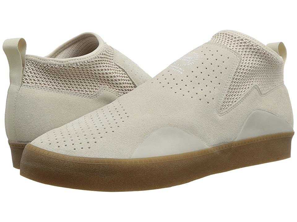 Image of adidas Skateboarding 3ST.002 (Clear Brown/Footwear White/Gum) Men's Skate Shoes
