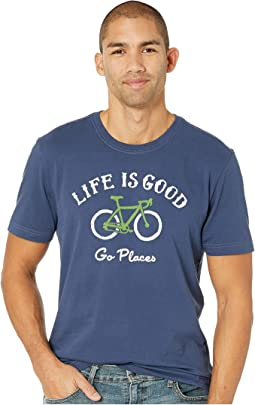 Go Places Bike Crusher T-Shirt