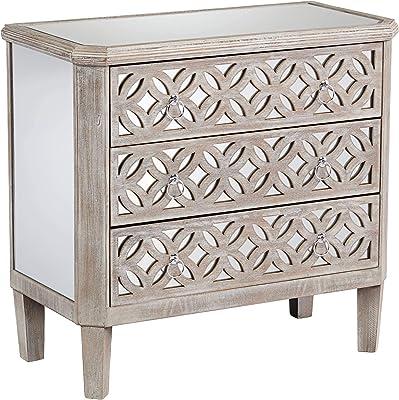 Amazon.com: Hebel Harrison 6 Drawer Dresser with Optional ...