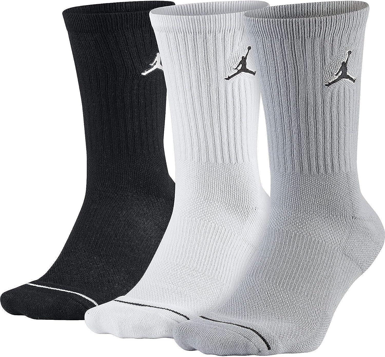 Nike Unisex Jordan Jumpman Crew Socks (3 Pack)