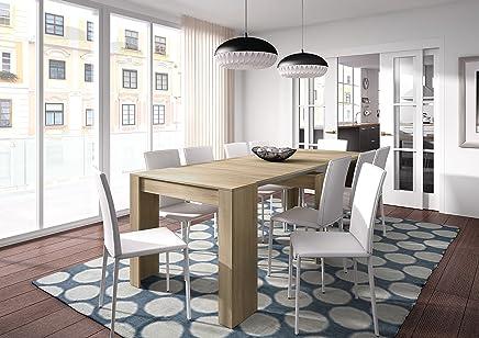 Amazon Es Mesa Extensible Ikea Hogar Y Cocina