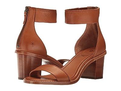 Frye Brielle Back Zip (Copper Soft Full Grain) Women