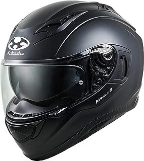 オージーケーカブト(OGK KABUTO)バイクヘルメット フルフェイス KAMUI3 フラットブラック (サイズ:S) 584818