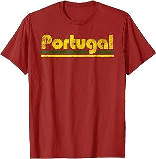 2018 Portugal Fan Retro Vintage Flag T-Shirt