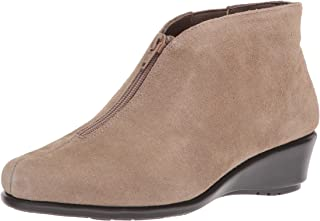 Aerosoles - حذاء طويل للكاحل مناسب للنساء - حذاء مدبب عند الأصابع مع وسادة قدم من الإسفنج الذي يتشكل حسب الجسم الملامس, (ت...