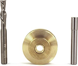 Whiteside Solid Brass Inlay Set, 1/4