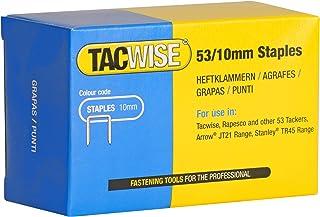 Tacwise 0431 Type 53/10 mm Verzinkt nietjes - Doos van 5.000