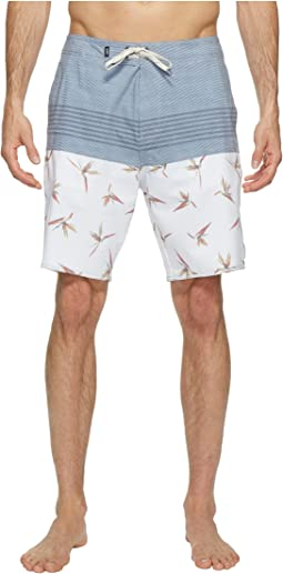 Trouble in Paradise Boardshorts 19""