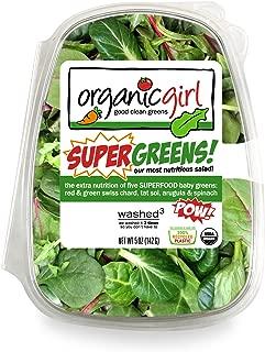 Organic Girl, Salad Super Greens Clam Organic, 5 ounce