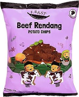 F.EAST Beef Rendang Potato Chips 70 Gram Bags